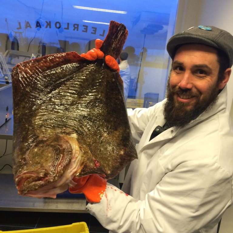 Roel and 5 kg Turbot